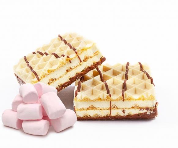 Vafle s příchutí marshmallow, 5 kusů