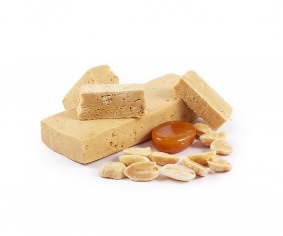 Tyčinka s příchutí arašídů a karamelu, 7 kusů