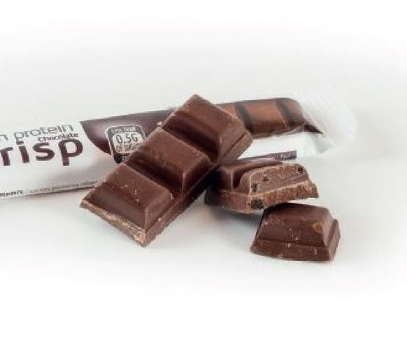 Hořká čokoláda s křupinkami, 7 kusů