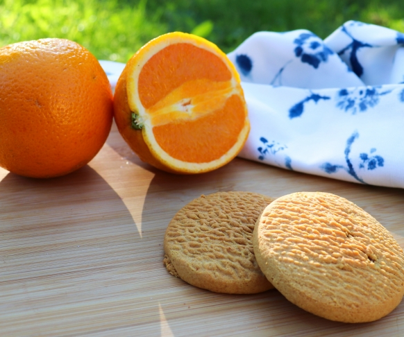 Cookie s pomerančovou příchutí, 7 kusů