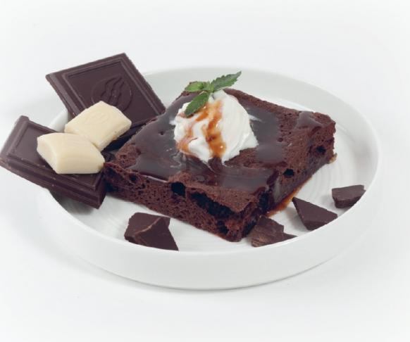 Řezy s čokoládovou příchutí v prášku, 7 kusů