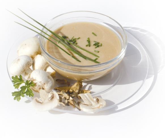 Polévka krémová s houbovou příchutí, 7 kusů