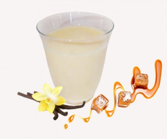 Pěna s vanilkovo-karamelovou příchutí, 7 kusů