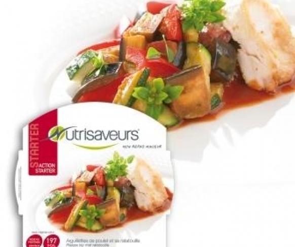 Zeleninové ratatouille s kuřecím masem bez lepku, 1 kus