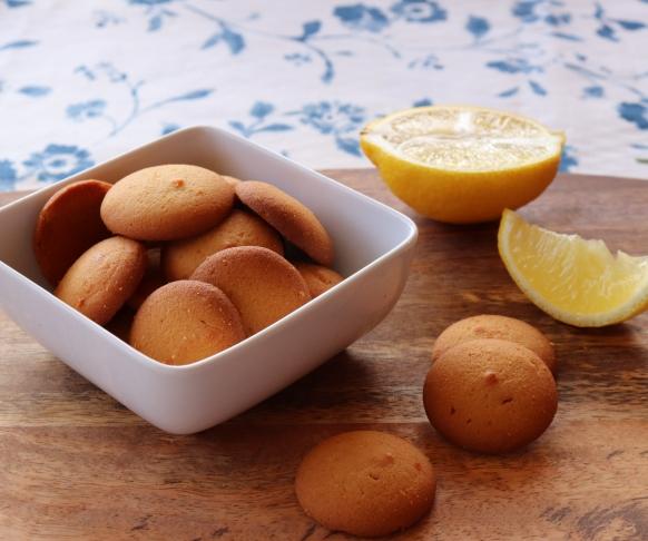 Delizie - sušenky s vanilkovo-citronovou příchutí, 1 kus